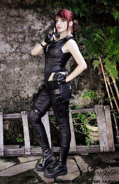 Lara's Shadow by Shermie-Cosplay.deviantart.com on @DeviantArt