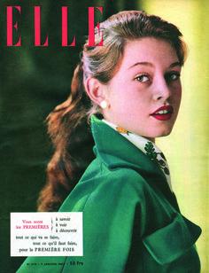 Vintage Elle France Magazine Cover http://vintagefashionlondon.co.uk/todays-biggest-fashion-magazines-in-the-previous-century/