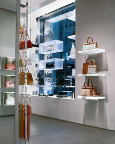 Furla flagship store, NYC  designed by FZAD Architecture + Design