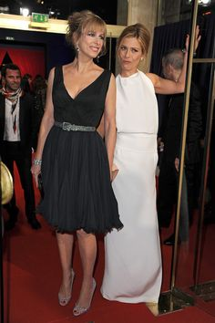Karin Viard Photos - Cocktail Arrivals - Cesar Film Awards 2012 - Zimbio