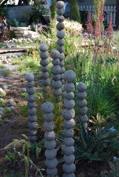 non-secateur: concrete balls