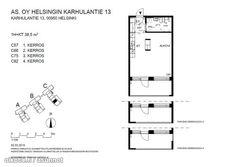 38,5m² Karhulantie 13, 00950 Helsinki Kerrostalo yksiö vuokrattavana | Oikotie 9372543