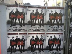 Posters have appeared in Germany - Depeche Mode tour 2013/2014 Oh Yeah!