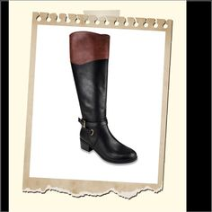 """Tall Riding Boots Brand new in box. Featuring a classic riding boot design, these Boots offer polished style that's great for wear season in and season out. Featured in black Riding boot style 1.5"""" heel 16.5"""" shaft 15"""" ... Rampage Shoes Winter & Rain Boots"""