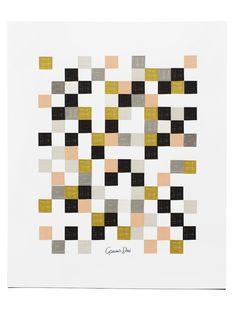 Garance Doré Boutique - Checkered Poster