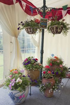 A Colourful Country Garden Fete Wedding: Tom & Jenny