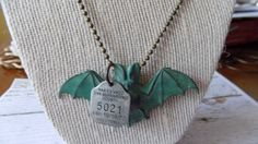 Sexy Bat Vintage Inspired Necklace by RingAroundRosey on Etsy