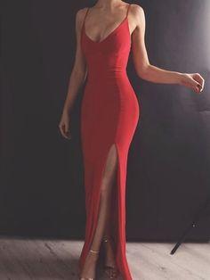 Custom Made Red Mermaid Prom Dress with Leg Slit, Red Mermaid .- Custom Made Red Mermaid Prom Dress with Leg Slit, Red Mermaid Formal Dresses Custom Made Red Mermaid Prom Dress with Leg Slit, Red Mermaid Evening Dresses # Red Mermaid Dress, Mermaid Evening Dresses, Evening Gowns, Elegant Evening Dresses, Mermaid Mermaid, Sexy Evening Dress, Elegant Dresses For Women, Trendy Dresses, Tight Dresses