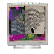 Curve Curve Curve 2 Shower Curtain by Janis Kirstein