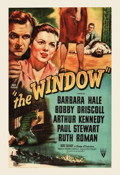 CLASSIC MOVIE POSTER The Window Movie by EncorePrintSociety