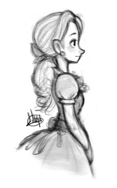 ArtStation - Sketches, Luigi Lucarelli Cute Sketches, Girl Drawing Sketches, Sketch 2, Cartoon Drawings, Cartoon Art, Cute Drawings, Princess Sketches, Arte Disney, Character Sketches