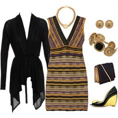 Dinner Date, created by #polyvorian-218 on #polyvore. #fashion #style #Missoni Rupert Sanderson