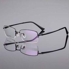 Men's fashion eyeglass gold frame ultralight titanium frames eye glasses frames for men optical frame 8271