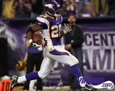 Adrian Peterson from the Minnesota Vikings- I'm repining because it's my boyfriend's favorite player and team <3