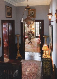 english country decorating | English Country Decor II / Lovely entryway