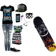 skateboarding outfits girls - Google Search