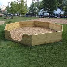 Image result for outdoor gaga pit