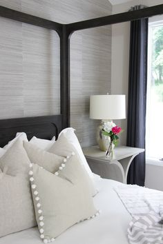 Click to see this drastic master bedroom makeover…