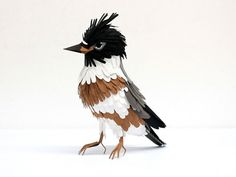 Paper bird sculptures by Diana Beltran Herrera - a *really* cool collection of photos here!