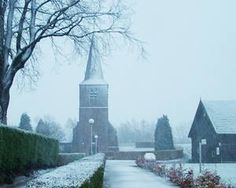 The Old Dutch Reformed Church of Aalburg, North Brabant, Netherlands.