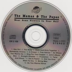 The Mamas & The Papas ‎– Wear Some Flowers In Your Hair (1992)