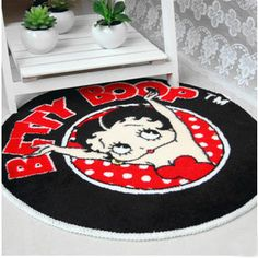 Decoration Style: Pastoral Technics: Hand Woven Use: Home Use: Hotel Use: Bedroom Use: Decorative Use: Bathroom Use: Toilet Modes of Sale: By piece Shape: Round Pattern Type: Cartoon Style: American S