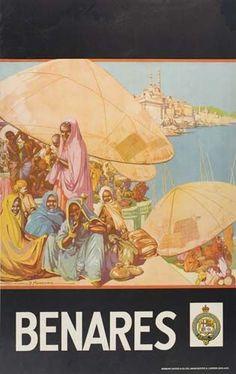 Benares ~ Dorothy Newsome