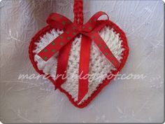 * Mare * ka-to: crochet heart ....