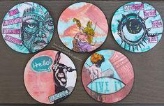 Annes Werkstatt: Artist Trading Coins der neue Hype?