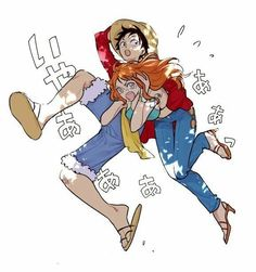 Luffy e Nami - One Piece One Piece Manga, Watch One Piece, One Piece Ship, One Piece Comic, One Piece World, One Piece 1, One Piece Images, One Piece Fanart, One Piece Luffy