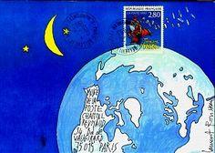 Art postal, Laurent Rousseau Correspondance, 1993 © Coll. L'Adresse Musée de La Poste / La Poste