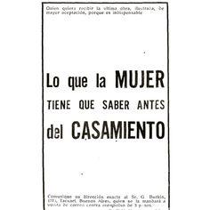 #1914 #argentina #buenosaires #vintage #ads #freelance #diseñoweb #tango #mujer