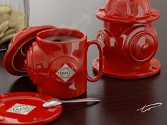 mug cup for firefighters. caneca-tabasco