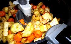 Spicy Root Vegetables (Actifry)