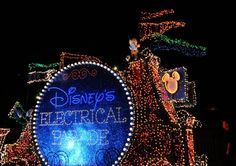 Frog Family's all-time favorite Disney parade…the Main Street Electrical Parade at Magic Kingdom.