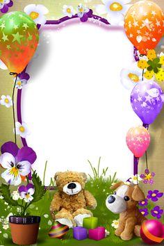 Pin by Johanny ventura on Bordes para caratulas Birthday Photo Frame, Happy Birthday Frame, Happy Birthday Wishes Cards, Birthday Frames, Birthday Photos, Photo Frames For Kids, Picture Frames, Valentines Frames, Boarder Designs