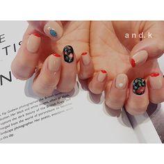. 刺繍ブラウスみたいな感じで◡̈⃝︎* . . #刺繍 #ヴィンテージ Nails, Instagram Posts, Beauty, Finger Nails, Ongles, Nail, Beauty Illustration, Manicures