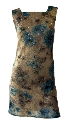 Fully lined sequin slip dress, Made in Herefordshire, UK...sold at >>  http://www.madecloser.co.uk/clothes-accessories/women/sequin-slip-dress
