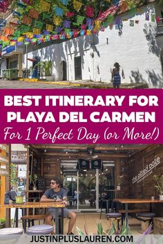 This is the perfect Playa Del Carmen Itinerary for 1 day or more. Exploring all of the hidden gems and must do activities in Playa Del Carmen. Travel Guides, Travel Tips, Travel Info, Budget Travel, Mexico Vacation Outfits, Visit Mexico, North America, Latin America, Central America
