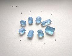 Aquamarine Crystal, Amethyst Quartz, Emerald Gemstone, Faceted Crystal, Semi Precious Gemstones, Loose Gemstones, Natural Gemstones, Garnet Gem, Watermelon Tourmaline