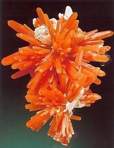 Beautiful Minerals — themagicfarawayttree: Orange quartz,...