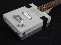 Nintendo NES Guitar wird aus alten Spielekonsolen hergestellt - irgendwie cool
