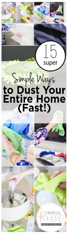 How to Dust Your Home, How to Easily Dust Your Home, Easy Ways to Dust Your Home, Cleaning, Cleaning Hacks, Cleaning Tips, Home Cleaning Tips, Clean Your Home Fast, Dust Your Home Fast, How to Dust Your Home Quickly, Popular Pin