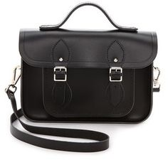 Cambridge Silversmiths Satchel Classic 11'' Satchel With Top Handle on shopstyle.com