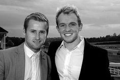 Jonny Williams & Barry Bannan Crystal Palace Race Day Lingfield 22nd/Oct/2013