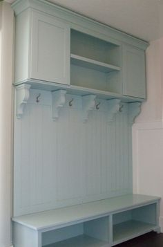 Mudroom Bench and Coat Rack