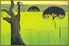 Mustard Field - Eyvind Earle