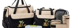 *HOT* Up to 64% off Diaper Bag Sets – As low as $18.18 + Free Shipping!