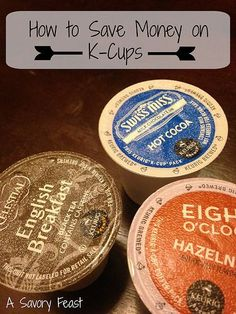 Is your Keurig draining your wallet? Lots of helpful tips on how to save money on K-Cups! #coffee save money on food saving money on food save money on groceries