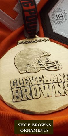 NFL Christmas Ornament Wendell August Cleveland Browns Ornament